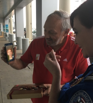 Passenger Reunited with Ring at CLE