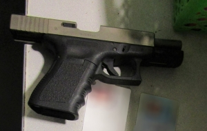 TSA officers at Pittsburgh International Airport detected this loaded gun at the checkpoint on November 21.
