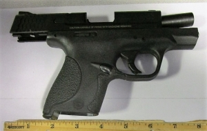 TSA officers at Pittsburgh International Airport detected this loaded gun at the checkpoint on Wednesday, June 26.