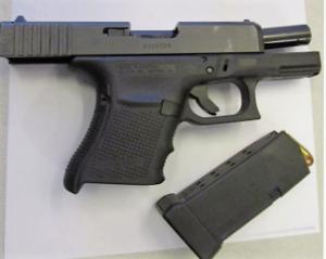 Gun Found at PIT