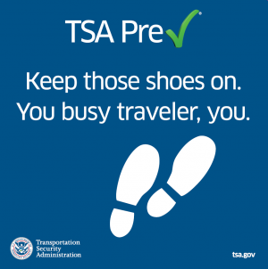 """Travelers will be able to enroll in TSA Pre✓® at Lehigh Valley International Airport from June 17 to 28 during an enrollment """"pop-up"""" application center at the airport."""