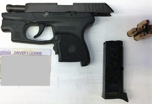 This loaded semi-automatic handgun was stopped by TSA officers at a Richmond International Airport Thursday, Aug. 30. (TSA photo)