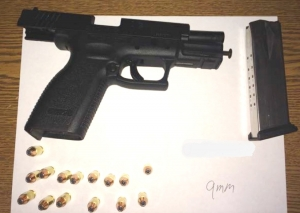 This loaded handgun was detected by TSA officers at the Richmond International Airport checkpoint on Sunday, Nov. 6.