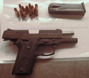 This handgun was detected by TSA officers at the Richmond International Airport checkpoint on Monday, July 18.