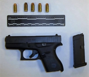 This loaded handgun was detected by TSA officers in a passenger's carry-on bag at Richmond International Airport on June 26.