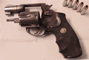 This loaded .38 handgun was stopped by TSA officers at a Richmond International Airport on Dec 19.