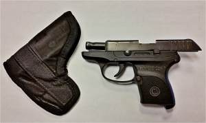 This handgun was detected by TSA officers at the Richmond International Airport checkpoint on Monday, May 16.