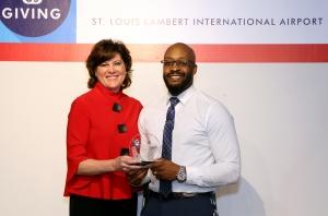 Ambassador of the Year at STL, Robert Davis