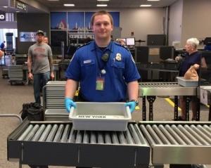 TSA officer Steve Kaminski