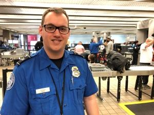 TSA is fully staffed for the holiday travel season. (TSA photo