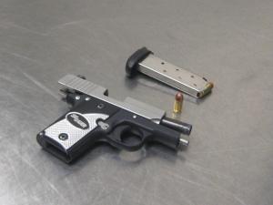 Firearm found at TWF on 08-18-2016
