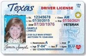 TX REAL ID Example