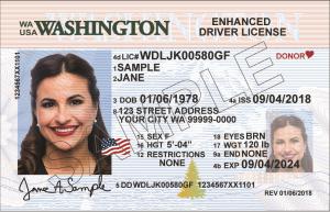 Washington REAL ID Example