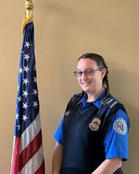 TSA's 2020 National Honorary Security Training Instructor of the Year Amber Powell