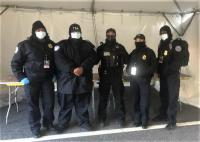 TSA officers and USSS officers