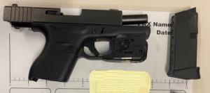 This handgun was detected by TSA officers in a passenger's carry-on bag at Gerald R. Ford International Airport (GRR) on Nov. 15.