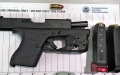 TSA officers at BWI International Airport detected this loaded handgun in a traveler's carry-on bag on May 23.  It was the 13th gun caught at the airport so far this year.
