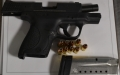 Kel-Tec .22 caliber handgun was discovered in a passenger's carry-on bag