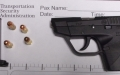 TSA officers at CKB Airport detected this loaded handgun in a traveler's carry-on bag on Tuesday, March 19th. (TSA photo)