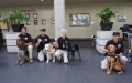 TSA working canine teams supporting security operations at Daniel K. Inouye International Airport in Honolulu.
