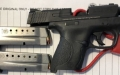 TSA officers detected this loaded handgun at one of the checkpoints at Dulles Airport on May 15.