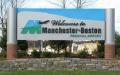 MHT Airport Sign