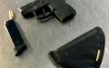ORH TSA officers discovered a loaded .22-caliber firearm with eight rounds on September 18. (TSA photo)
