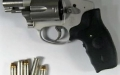 This .38 caliber revolver was detected by TSA officers at Yeager Airport on September 21st. It was loaded with five bullets. (TSA photo)