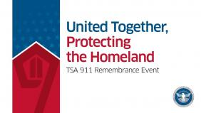 TSA 9/11 remembrance video image